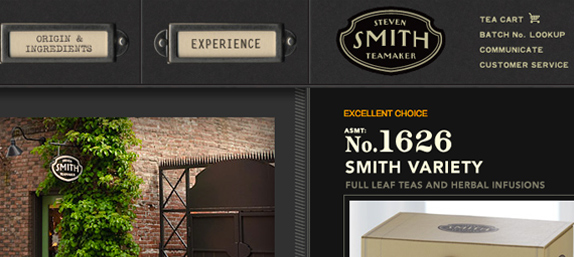 Smith Teamaker: website